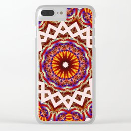 Galactic Calling Clear iPhone Case