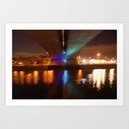 Kingston Bridge Art Print