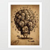 #19 Art Print