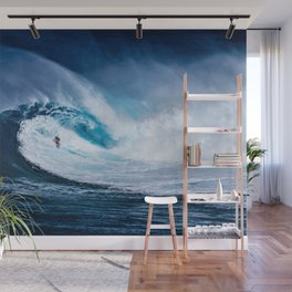 Wave Series Photograph No. 5 - Thirty Foot Roller Wall Mural