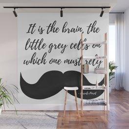 Little Grey Cells Wall Mural