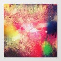 celestial Canvas Prints featuring Celestial by Timothy Davis