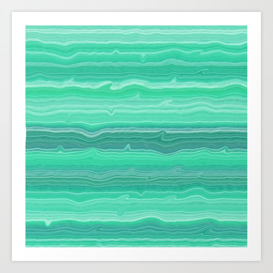 Simple Sea Art Print