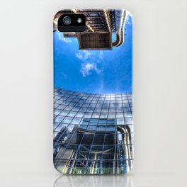 Lloyds of London and Willis Group Buildings iPhone Case