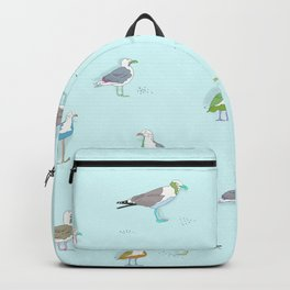 Birds hanging out Backpack