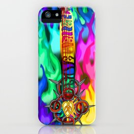 Fusion Keyblade Guitar #194 - Eternal Flame & Combined Keyblade iPhone Case