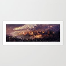 Ruins of Jerusalem Art Print