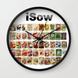 iSow Wall Clock