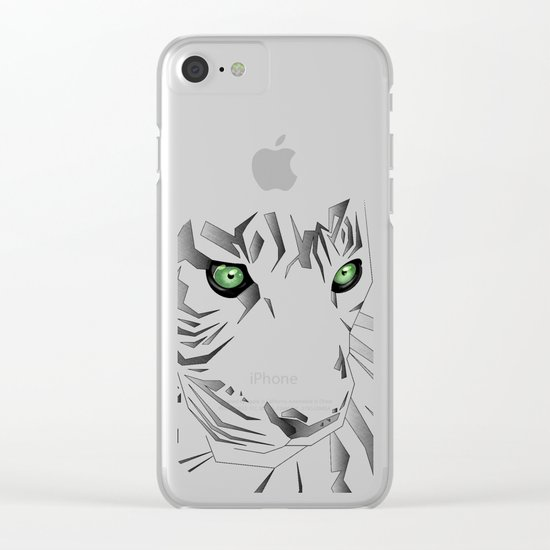 Tiger's  Soul Clear iPhone Case