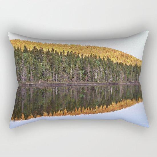Fall Forest Reflected Rectangular Pillow
