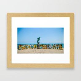 Puerto Vallarta Mexico Framed Art Print