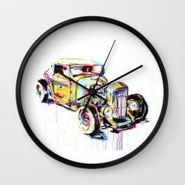 Hotrod 1932 Wall Clock
