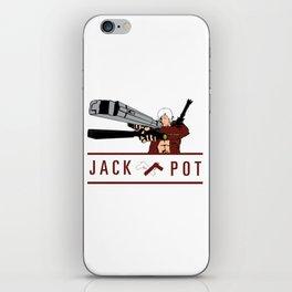 JACK POT iPhone Skin