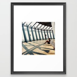 Tangents Framed Art Print
