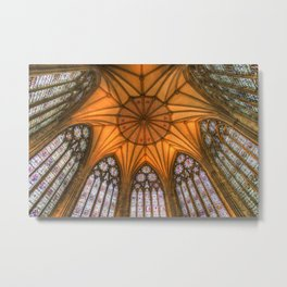 The Chapter House York Minster Metal Print