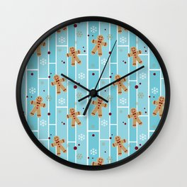Ginger cookies Wall Clock