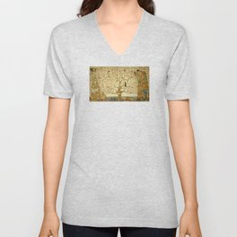Gustav Klimt - Tree of Life Unisex V-Neck