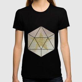 Sparkling Glamorous Golden Star T-shirt