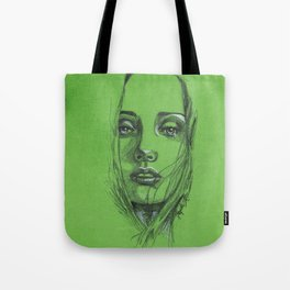 Study of a Girl 2 Tote Bag