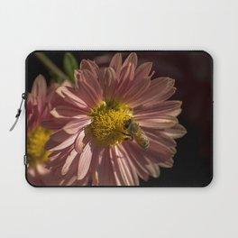 Honeybee on a Flower Laptop Sleeve