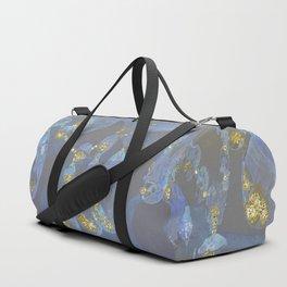 Fantasy Chandelier Champagne Ballroom Duffle Bag