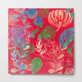 Spring Flowers Art Metal Print