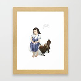 Mommy Can i keep it? Framed Art Print