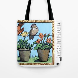 Party Line Tote Bag