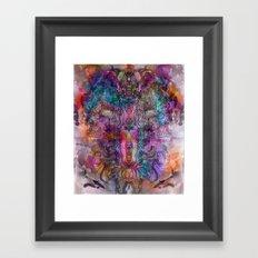 In The Ether Framed Art Print
