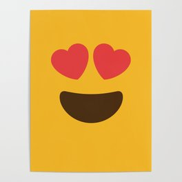 Love Face Poster