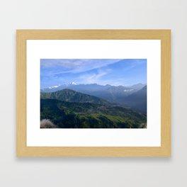 View of Besisahar - Greg Katz Framed Art Print