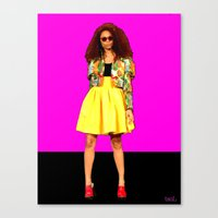 colombia Canvas Prints featuring Moda…Colombia by FiVe