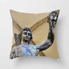 Perseus Slays MEDUSA Throw Pillow