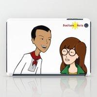 daria iPad Cases featuring Daria meets Andres Bonifacio by Cesar Cueva