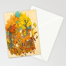 Autumn Eternal  Stationery Cards