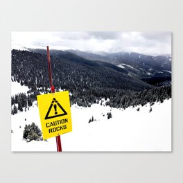 backcountry Canvas Print