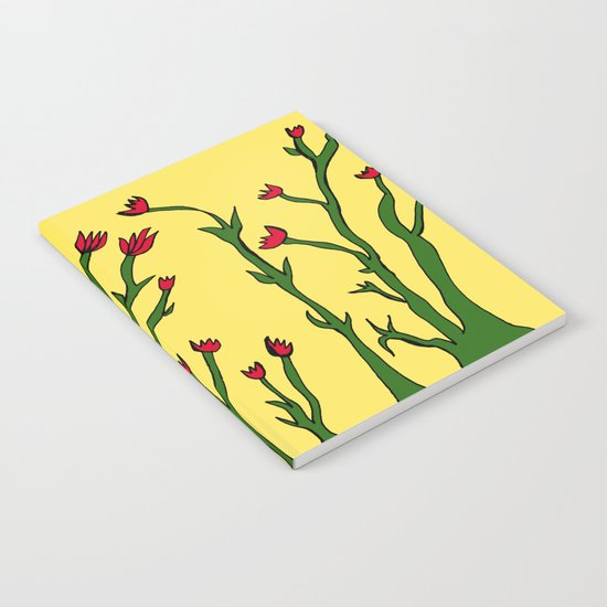 Long flowers Notebook