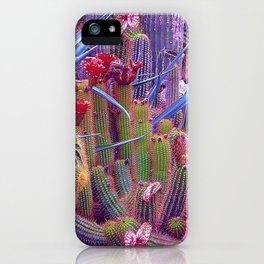 Hazardous spiky plant iPhone Case