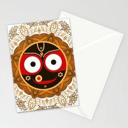 Jagannath. Indian God of the Universe. Lord Jagannatha. Stationery Cards