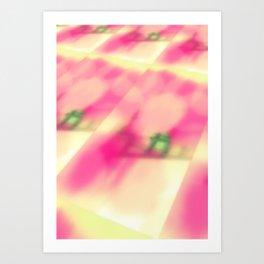 Cotton Candy Landscape Art Print