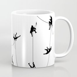 Invasion of the rock climbers Coffee Mug
