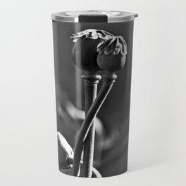 Floral Embrace - Poppy Travel Mug