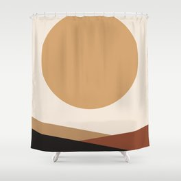 NUOVO GIORNO - the NEW DAY - Modern abstract art Shower Curtain
