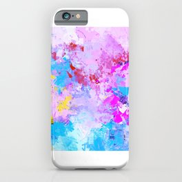 Abstract,colourful,bright,modern art decor  iPhone Case