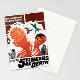 Five Fingers of Death Stationery Cards