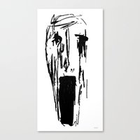 pain Canvas Prints featuring Pain by juju