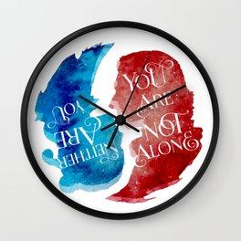 reylo - yin yang Wall Clock