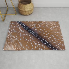 Bambi fur with sport trim Rug