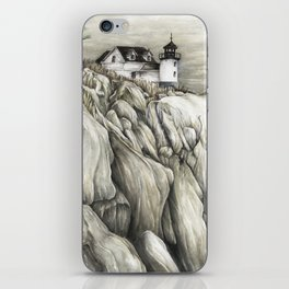 Bass Harbor Head Lighthouse iPhone Skin