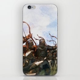 Medieval Army in Battle iPhone Skin